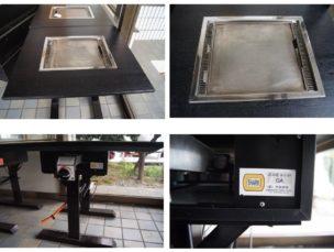 ㈱大東商会 鉄板テーブル PA GA 中古品 AR-789-87