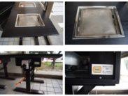 ㈱大東商会 鉄板テーブル PA GA 中古品 AR-790-88