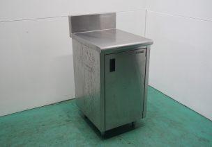 作業台 片開き扉 BG付 ㈱フジマック 中古品 AR-2104