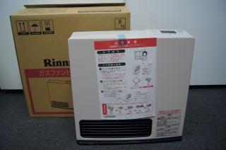 ガスファンヒーター SRC-364E リンナイ㈱ 新品 AR-2428