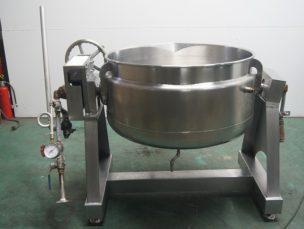 蒸気釜 蒸気回転釜 RTK-150SC 三浦工業㈱ 中古品 AR-3677