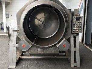 自動炒め機 ロータリーシェフ RCU-120SPLX2 クマノ厨房工業㈱ 中古品 AR-3494