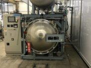 レトルト殺菌装置 高湿高圧調理殺菌装置 フレーバーエース ㈱日坂製作所 AR-3116