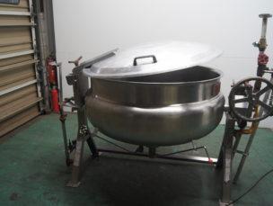 蒸気釜 KSⅡD1-50 桐山工業㈱ 中古品 AR-3679