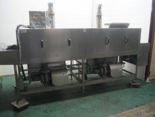 食器洗浄機 ガス式 WX23 G7AT ㈱中西製作所 中古品 AR-3802