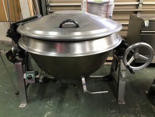 釜 蒸気釜 煮炊きがま GHSL4-32D1 服部工業㈱ 中古品 AR-4129