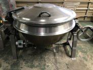 釜 蒸気釜 煮炊きがま GHSL4-32D1 服部工業㈱ 中古品 AR-4127